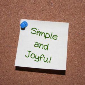 Simple and Joyful